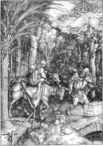 Albrecht Dürer: Die Flucht aus Ägypten  – und die Exotik. Mittagspause im MuseumsGarten mit Stulle