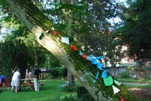 Sommerfest und LandART rund um die Kapelle auf dem Johannisfriedhof