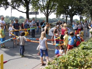 Buntes Markttreiben auf dem Sommerfest des KGV-Süd