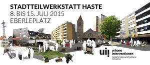 Urbane Interventionen vom 8. bis 15. Juli 2015