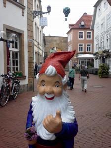 Mit Gartenzwerg im Heißluftballon über das Osnabrücker Land! Gartenzwerg-Wettbewerb verlängert!