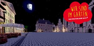 Digitale Gärten – die Minecraft-Nacht