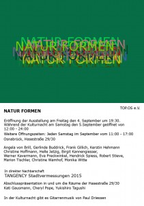 Ausstellung – NATUR FORMEN